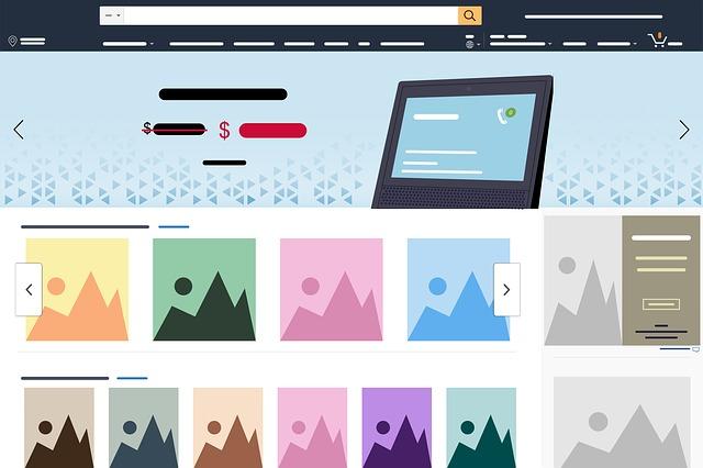 Amazon stránka