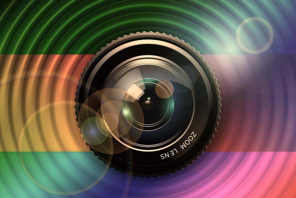 kamera, objektív